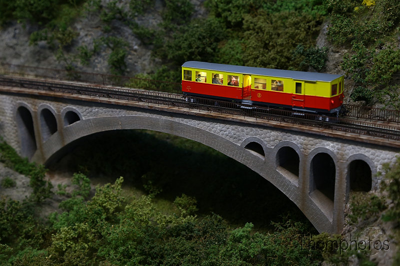 reportage 2017 france brive la gaillarde salon international de modélisme ferrovaire sncf train chemin de fer maquette jouet jouef roco marklin réseau Le Train Jaune catalan